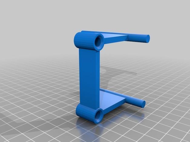 丝线材料管座 3D模型  图3