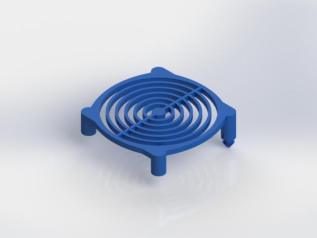 风扇保护罩 3D模型  图5