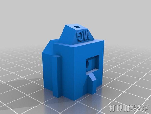 LUCAS挤出机 3D模型  图2