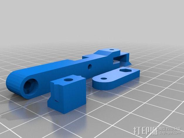 LUCAS挤出机 3D模型  图3