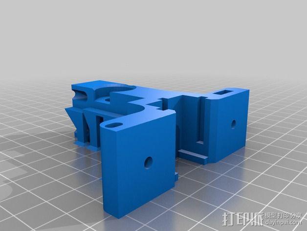 LUCAS挤出机 3D模型  图4