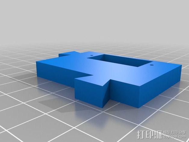 LUCAS挤出机 3D模型  图5