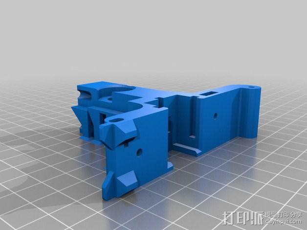LUCAS挤出机 3D模型  图9