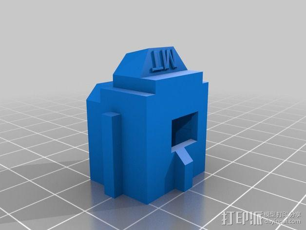 LUCAS挤出机 3D模型  图10