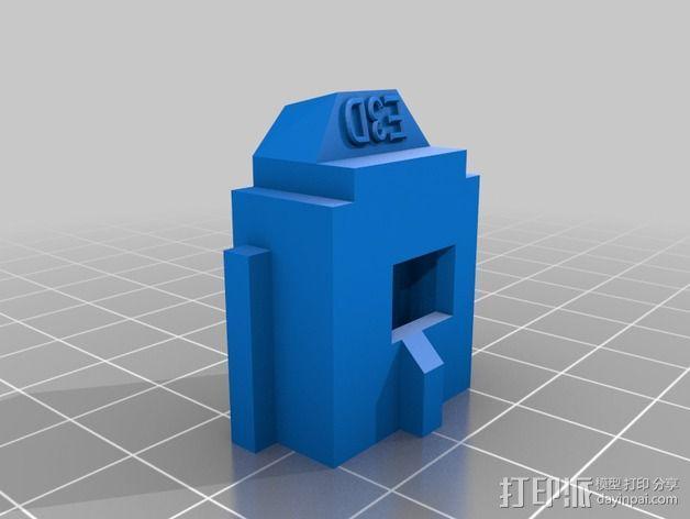 LUCAS挤出机 3D模型  图12