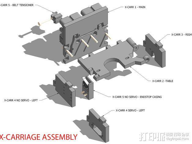 LUCAS挤出机 3D模型  图15