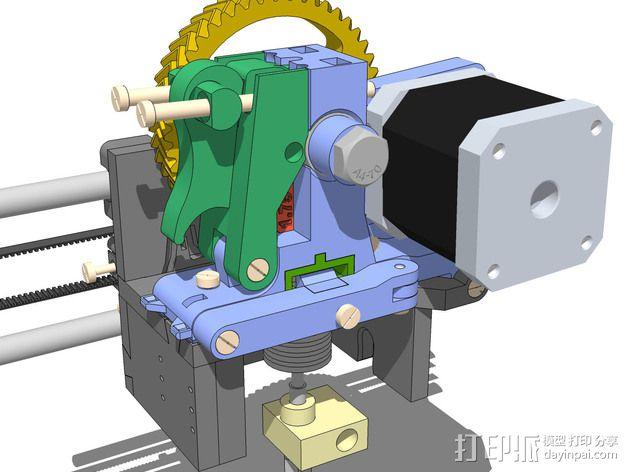 LUCAS挤出机 3D模型  图14