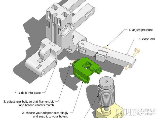 LUCAS挤出机 3D模型  图18