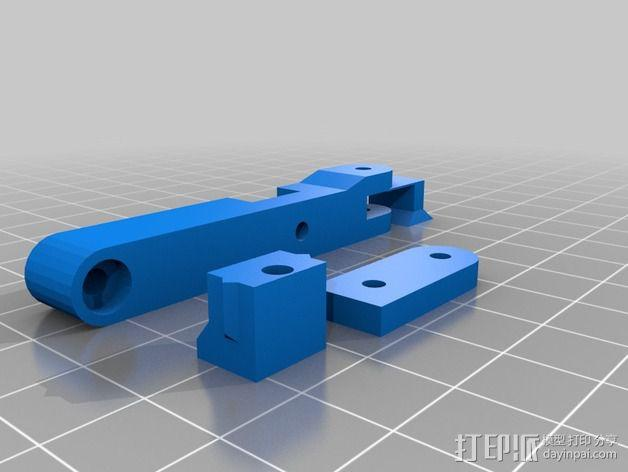 LUCAS挤出机 3D模型  图24