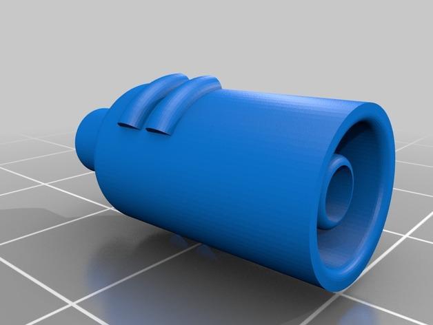 卷线轴支架 3D模型  图4