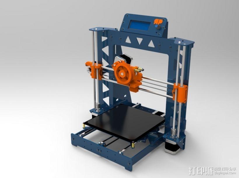 Prusa i3 打印机 3D模型  图1