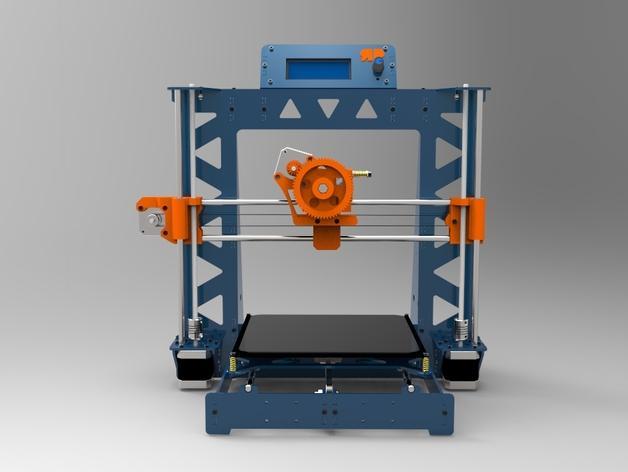 Prusa i3 打印机 3D模型  图12