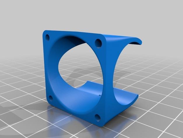 E3D-v6通风导管  3D模型  图2