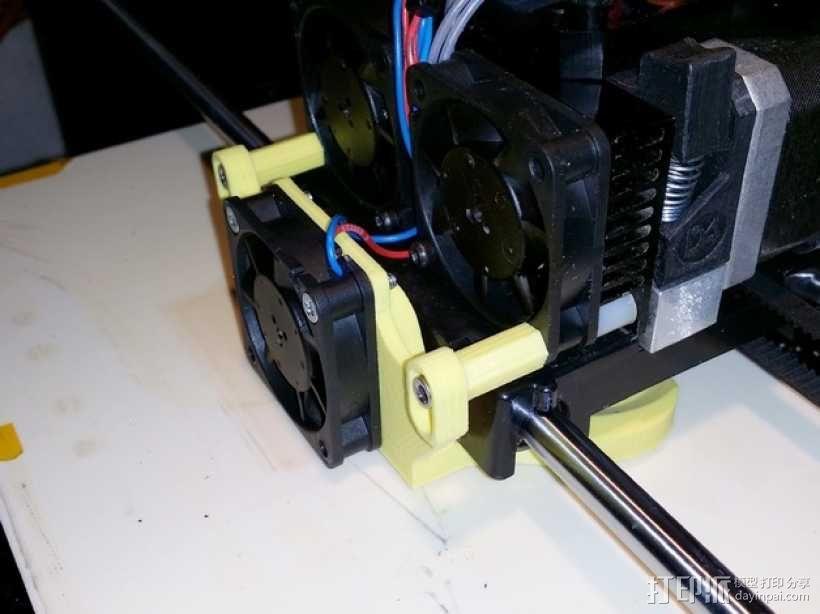 Replicator 1 / Duplicator 4 / FlashForge打印机散热导管 3D模型  图11