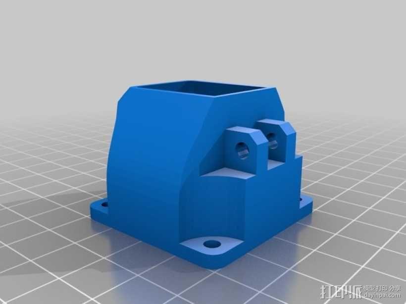 Prusa i3 3D打印机挤出机 3D模型  图7