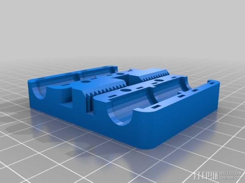 Prusa i3 3D打印机挤出机 3D模型  图8