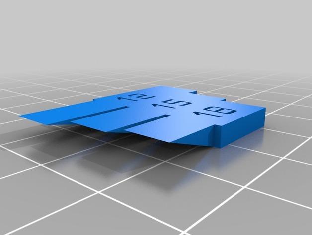 打印机测试套件 3D模型  图5