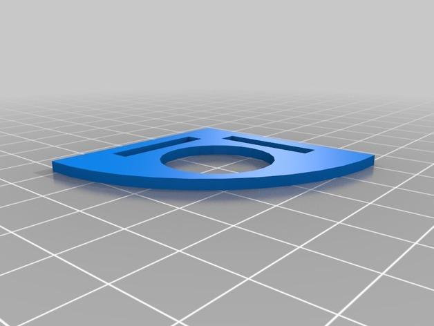 打印机测试套件 3D模型  图4