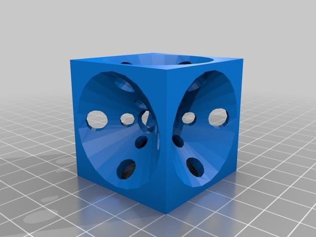打印机测试套件 3D模型  图9