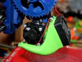 风扇散热导管 3D模型