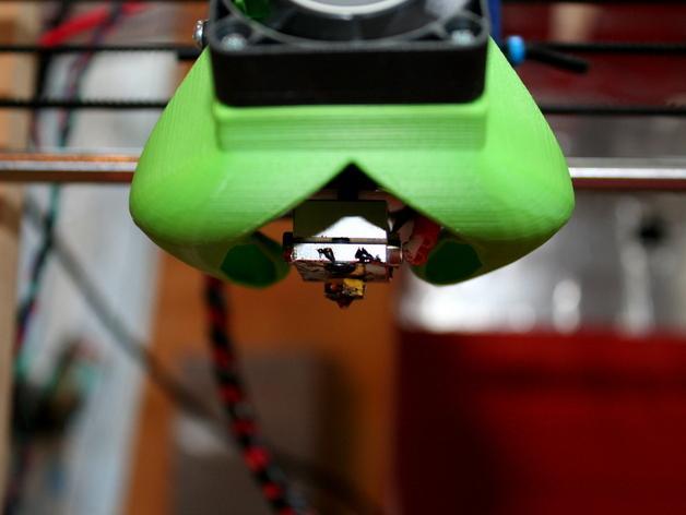 风扇散热导管 3D模型  图2
