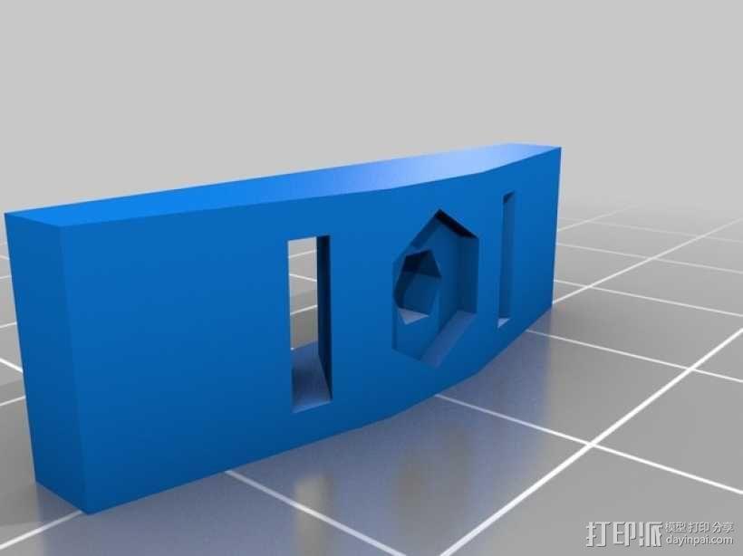 皮带夹 3D模型  图5