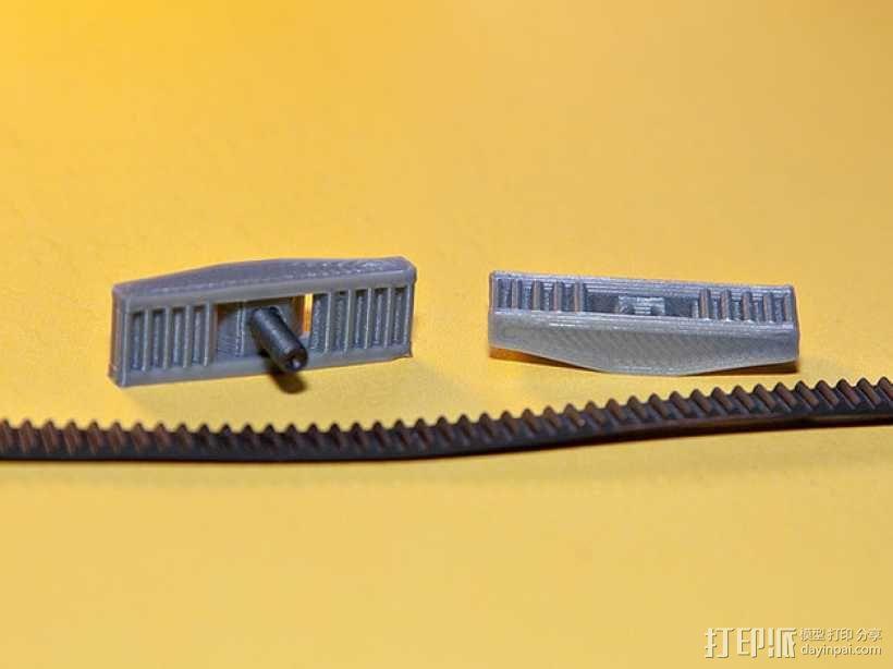 皮带夹 3D模型  图3