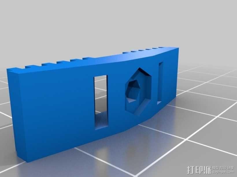 皮带夹 3D模型  图9