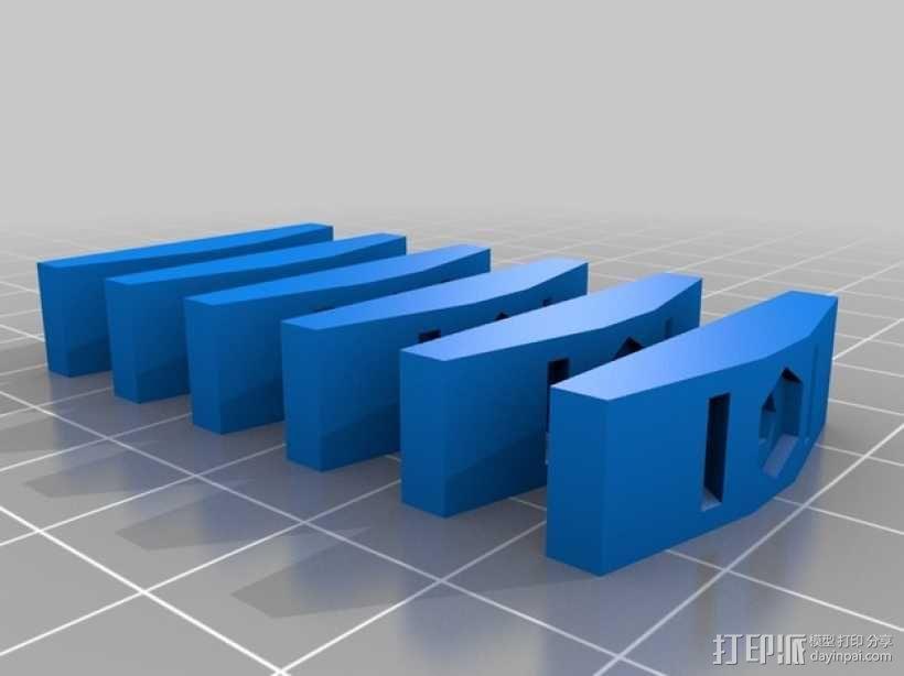 皮带夹 3D模型  图6