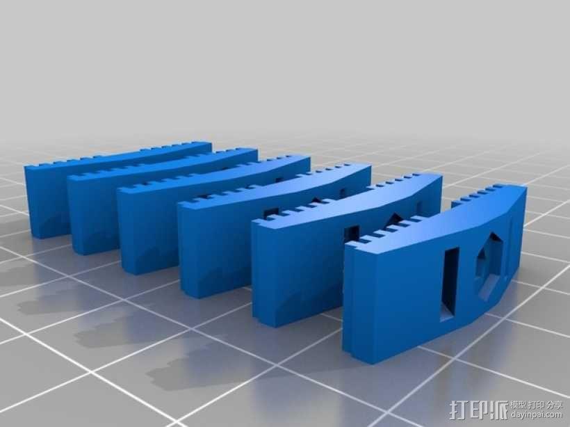 皮带夹 3D模型  图10