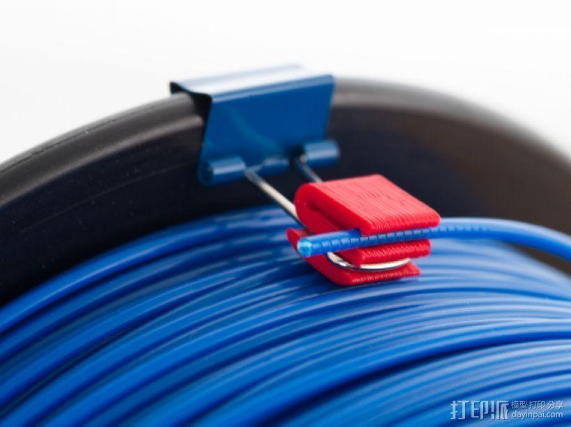 1.75毫米的卷线夹 3D模型  图2