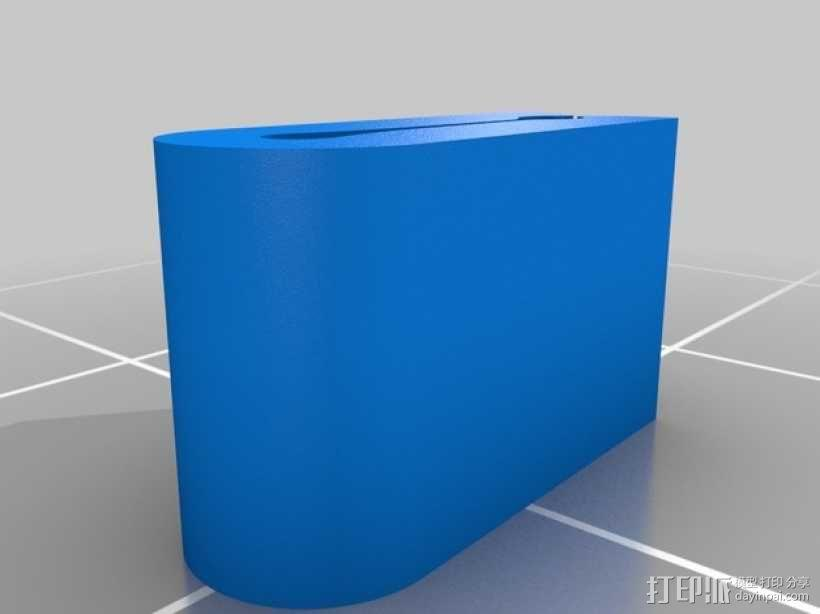 1.75毫米的卷线夹 3D模型  图4