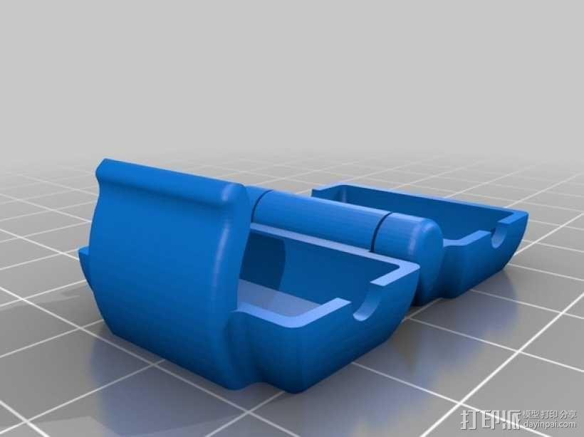 打印机滤尘器 3D模型  图2