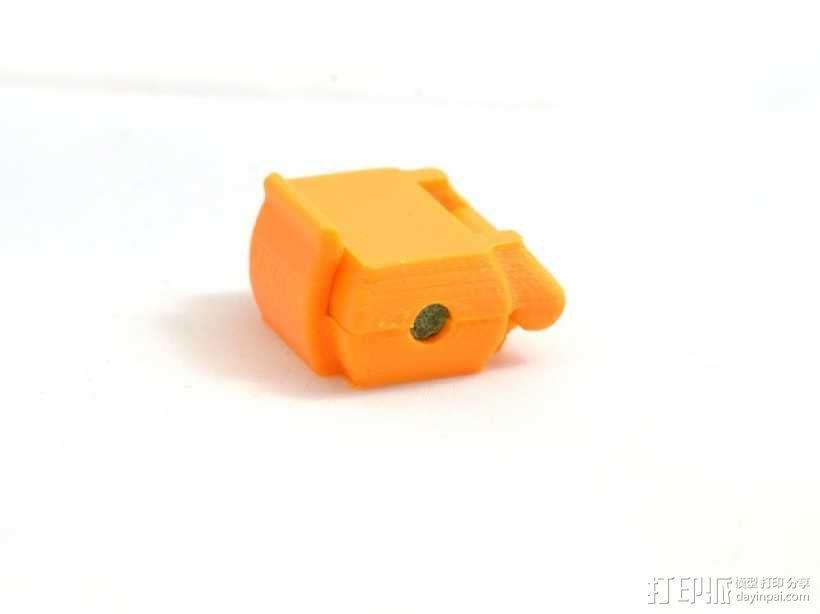 打印机滤尘器 3D模型  图3
