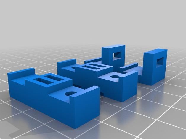 可调节皮带张紧器 3D模型  图2