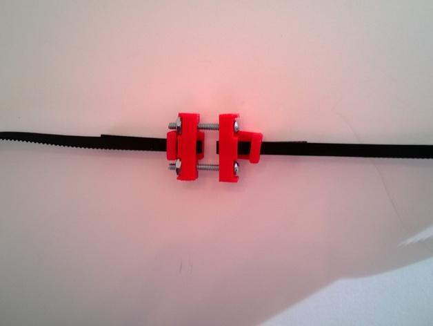可调节皮带张紧器 3D模型  图7