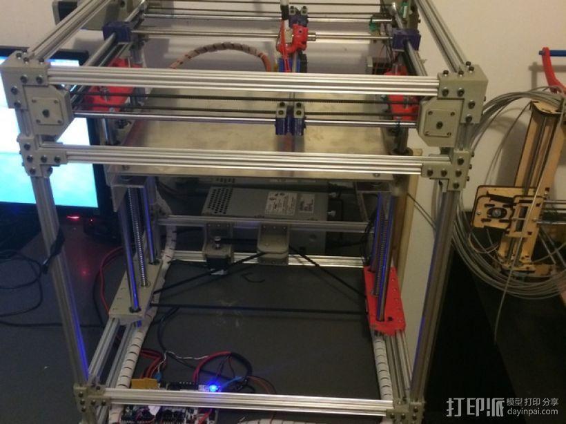 Openbeam打印机 3D模型  图1