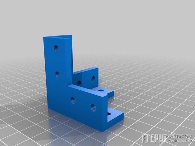 Openbeam打印机 3D模型  图16
