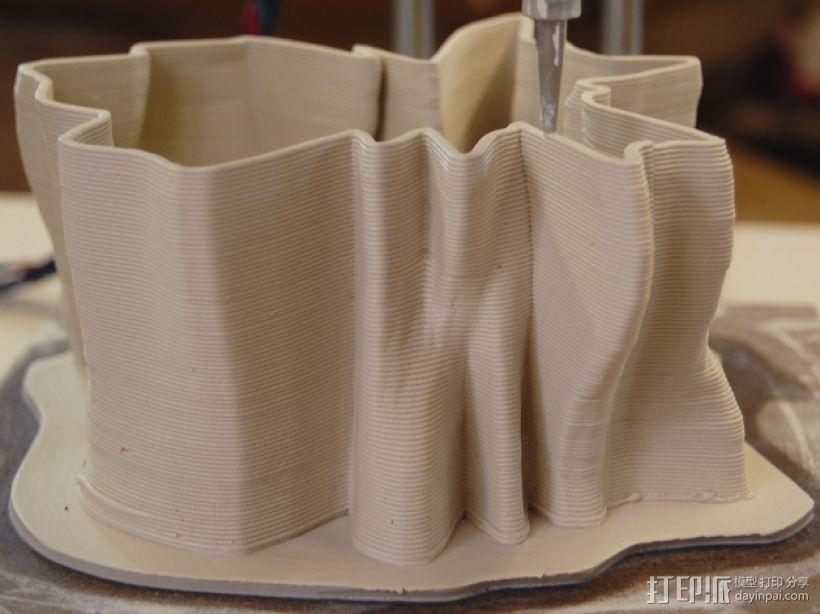 陶瓷delta 3D打印机 3D模型  图10
