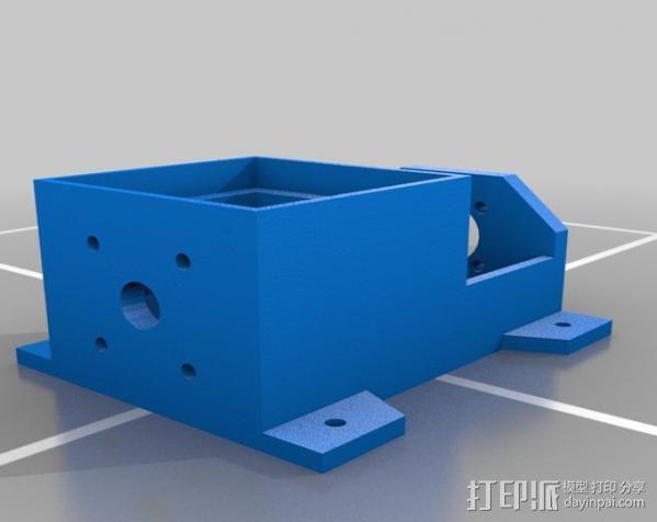 LYMAN材料挤出机 3D模型  图5