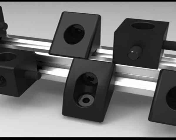 V形槽边角连接器  3D模型  图7