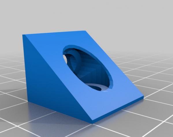 V形槽边角连接器  3D模型  图14