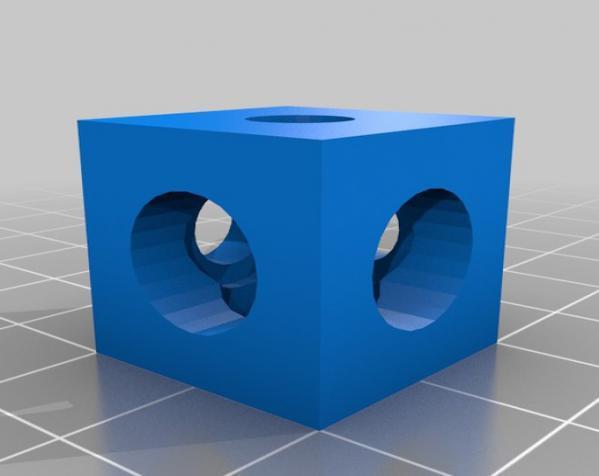 V形槽边角连接器  3D模型  图13