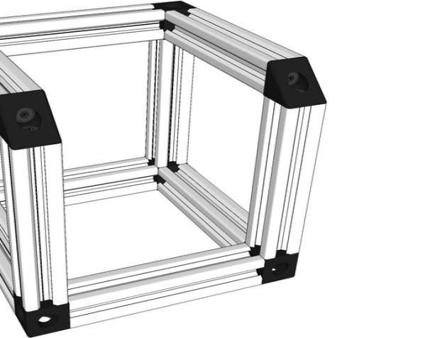 V形槽边角连接器  3D模型  图12