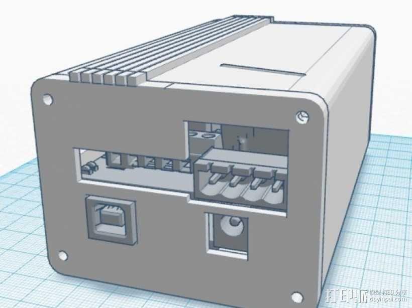Ramps 1.4 打印机排风扇 3D模型  图1