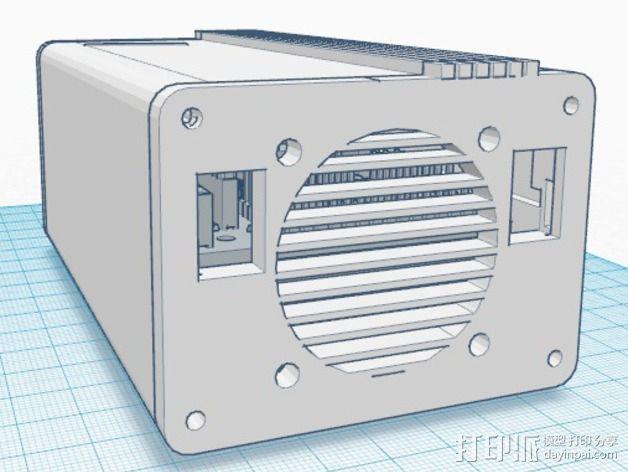 Ramps 1.4 打印机排风扇 3D模型  图3