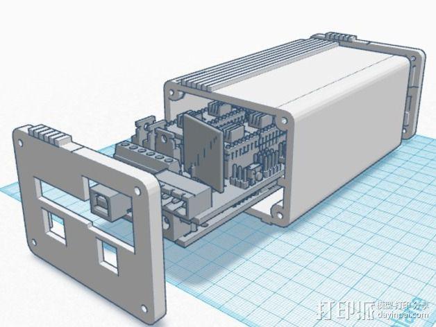 Ramps 1.4 打印机排风扇 3D模型  图4