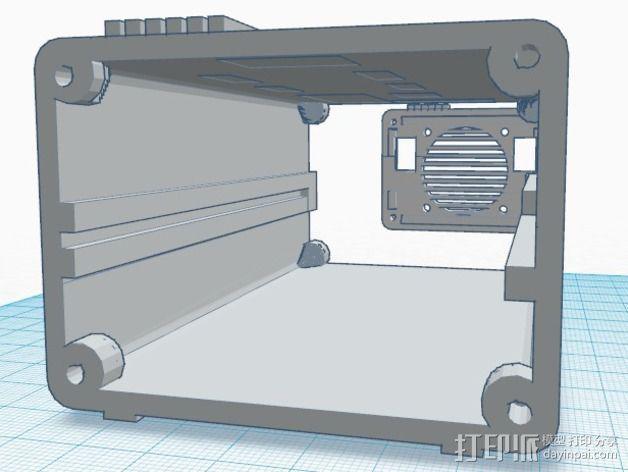Ramps 1.4 打印机排风扇 3D模型  图5