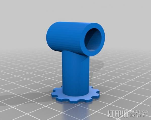 Fabscan 开源扫描仪 3D模型  图12