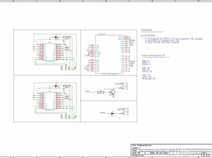 Fabscan 开源扫描仪 3D模型  图39